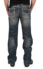 Rock & Roll Cowboy Men's Pistol Straight Leg Medium Wash Cavender's Exclusive Jeans