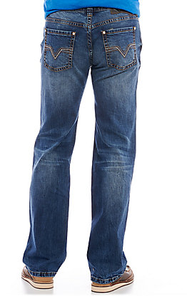 Rock & Roll Denim Men's Reflex Pistol Straight Leg Jeans