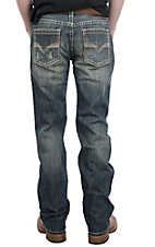 Rock & Roll Denim Men's Pistol Straight Medium Wash Jeans
