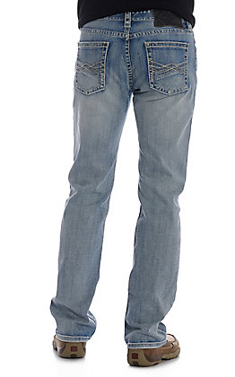 Rock & Roll Denim Men's Revolver Straight Leg Slim Fit ReFlex Stretch Jeans
