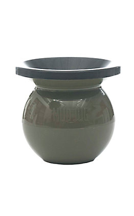 Mud Jug Olive Green Classic Spittoon
