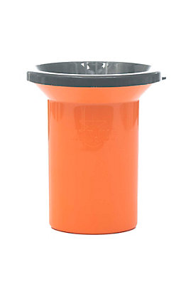 Mud Jug Orange Spittoon Roadie Edition