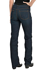 Cinch Women's Jenna Dark Wash Performance Rise Slim Fit Boot Cut Jean