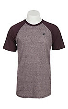 Hurley Men's Still Classic Raglan Short Sleeve T-Shirt