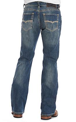 Rock & Roll Denim Men's ReFlex Pistol Boot Cut Medium Wash Jeans