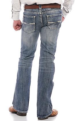 Rock & Roll Denim Men's Light Wash Pistol Straight Leg Jeans