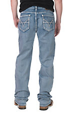 Rock and Roll Cowboy Men's Medium Wash Relaxed Fit Straight Leg Jeans