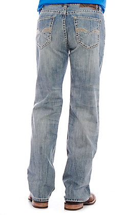 Rock & Roll Denim Men's Double Barrel Light Wash Jeans