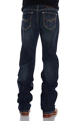 Rock & Roll Denim Men's Double Barrel ReFlex Straight Criss Cross Pocket Jean