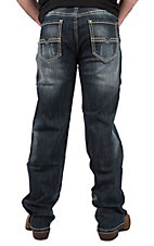 Rock & Roll Denim Men's Double Barrel Relaxed Straight Leg Cavender's Exclusive Jeans
