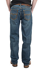 Rock & Roll Denim Men's ReFlex Double Barrel Straight Flat Seam Jean