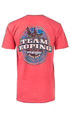 Wrangler Red Team Roping Short Sleeve Tee