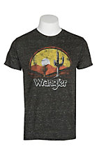 Wrangler Men's Heather Black Sunset Graphic S/S T-Shirt