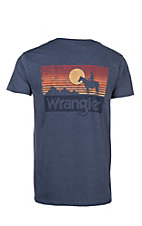 Wrangler Men's Denim Blue Sunset S/S T-Shirt