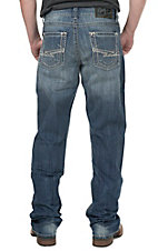 Rock 47 by Wrangler Men's Concert Slim Fit Boot Cut Jean