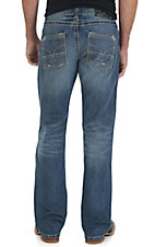 Rock 47 by Wrangler Men's Free Style Slim Fit Boot Cut Jean