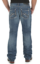 Rock 47 by Wrangler Men's Front Row Slim Fit Boot Cut Jean