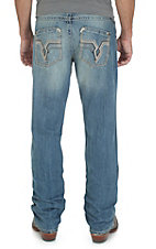 Rock 47 by Wrangler Men's Groupie Slim Fit Boot Cut Jean