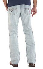Rock 47 by Wrangler Men's Turntable Slim Stretch Boot Cut Jeans