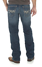 Rock 47 by Wrangler Men's Freestyle Relaxed Boot Cut Comfort Stretch Jeans