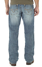 Rock 47 by Wrangler Men's Reggae Relaxed Boot Cut Jeans