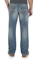 Rock 47 by Wrangler Men's Techno Relaxed Fit Boot Cut Jean