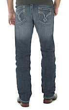 Rock 47 by Wrangler Men's Dark Wash Alternative Straight Leg Comfort Stretch Jeans