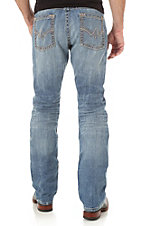 Rock 47 by Wrangler Men's Medium Wash Straight Leg Slim Fit Jeans