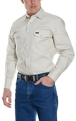 Wrangler Stone Long Sleeve Big & Tall Workshirt