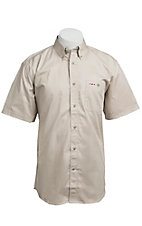 Larro S/S Mens Solid Natural Shirt MSSL901NT