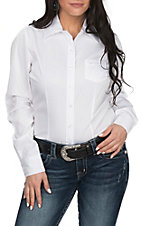 Cinch Women's White L/S Western Shirt