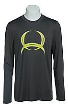 Cinch Men's Grey Long Sleeve Tech Shirt MTK1720005