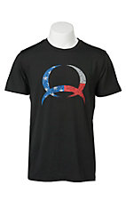 Cinch Men's Black Logo Short Sleeve Tee MTK1730019