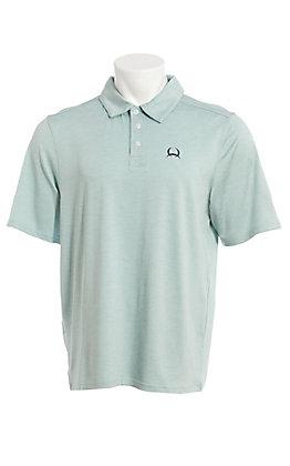 Cinch Men's ArenaFlex Light Blue Short Sleeve Polo Shirt