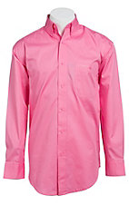 Wrangler Tough Enough To Wear Pink Men's Long Sleeve Western Shirt MTP242K