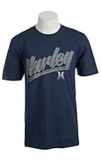 Hurley Men's Ace Guy Navy Short Sleeve Tee