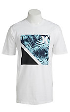 Hurley Men's Rubix White Short Sleeve Tee