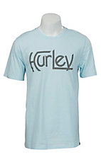 Hurley Men's Original Ice Blue Short Sleeve Tee