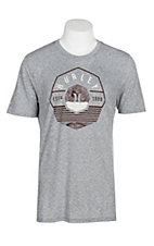 Hurley Men's Cool Grey Tri-Blend Tide Change S/S T-Shirt
