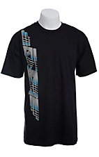 Cinch Men's Black Logo Short Sleeve Tee MTT1690114