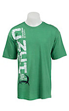 Cinch Men's Green Logo Short Sleeve Tee MTT1690148GR