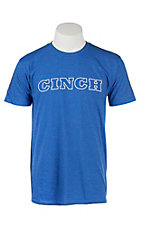 Cinch Men's Blue Logo Short Sleeve T-Shirt