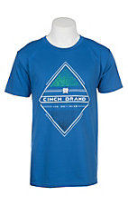 Cinch Men's Royal Blue Branded Screen Print S/S T-Shirt