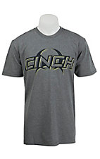 Cinch Men's Grey Logo Short Sleeve Tee MTT1694025HG