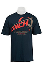 Cinch Men's Navy Logo Short Sleeve Tee MTT1694026NA