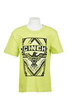 Cinch Boys Lime Green T-Shirt