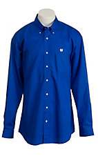 Cinch L/S Mens Solid Fine Weave Shirt MTW1103312