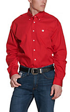 Cinch L/S Mens Solid Fine Weave Shirt MTW1103313