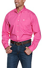 Cinch L/S Mens Solid Fine Weave Shirt MTW1103320