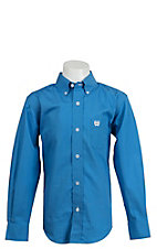 Cinch L/S Boy's Solid Fine Weave Shirt MTW7060083